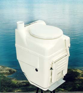 Ecolet Mobile Composting Toilet